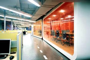 阿里巴巴雅虎办公室--现代风格办公室装修