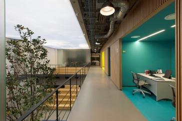 现代风创意办公室装修---(庭院篇)
