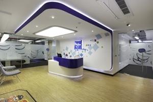 现代科技风办公室装修案例