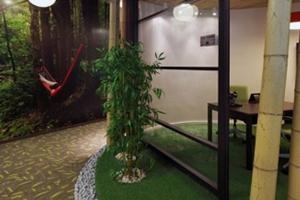 现代风创意办公室装修---(原始森林篇)