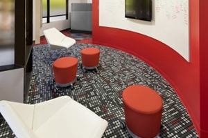 现代风创意办公室装修案例