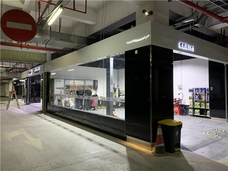 广州商铺装修,汽车美容装修